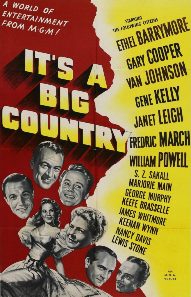 1951 It's a big country