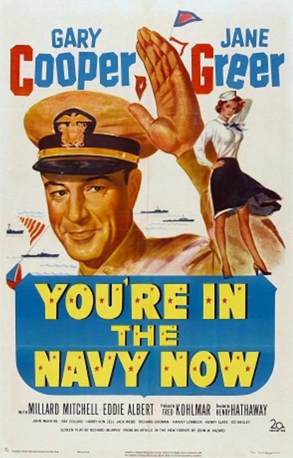 1951 La Marine est dans le lac