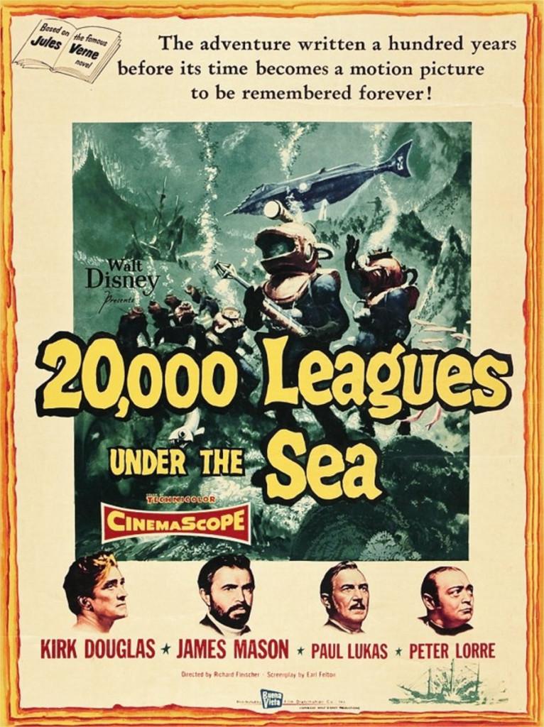 1954 20 000 lieues sous les mers