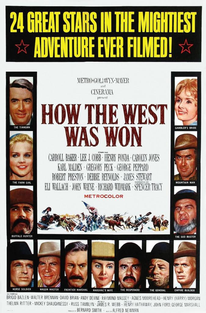 1962 La Conquête de l'Ouest