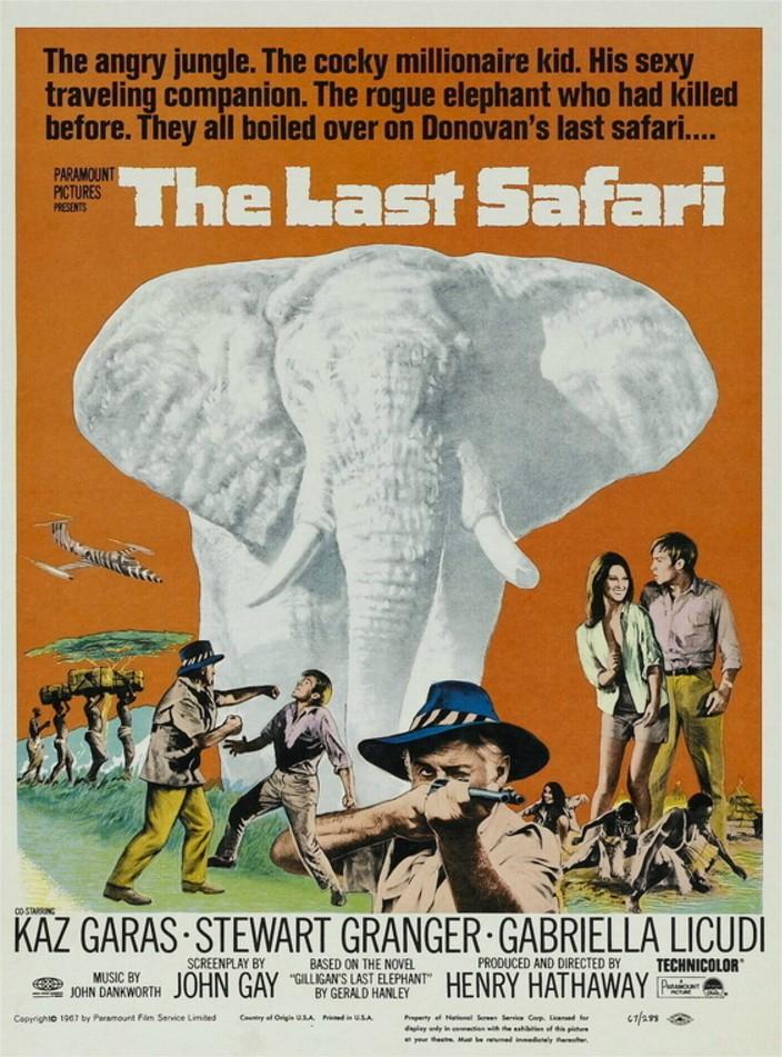 1967 Le Dernier Safari