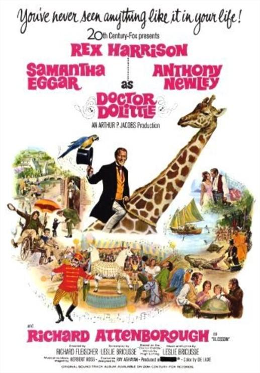 1967 L'extravagant docteur Dolittle