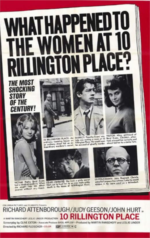1971 L'Etrangleur de Rillington Place