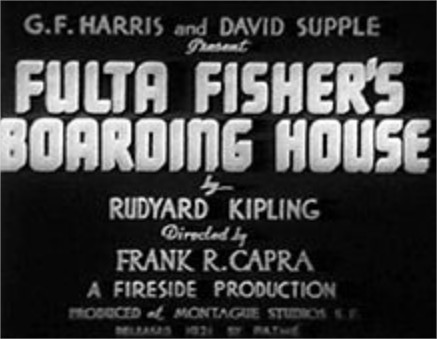 1922 The Ballad of Fisher's Boarding House