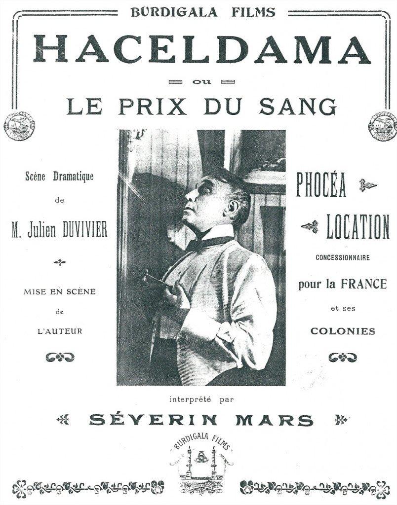 1919 Haceldama ou le prix du sang