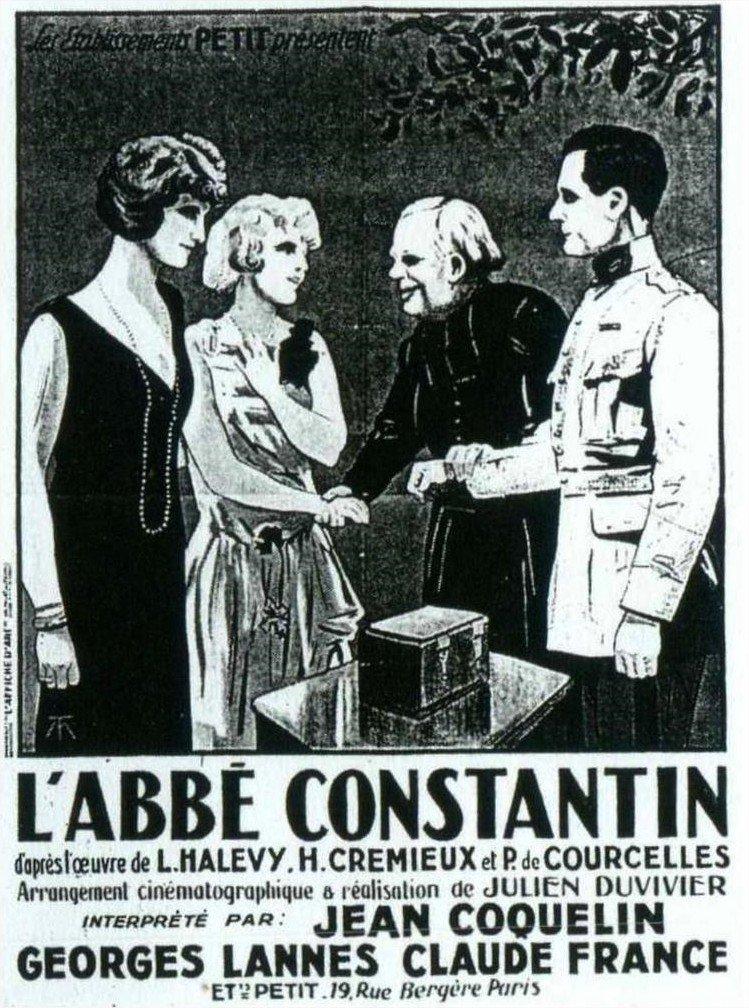 1925 L'Abbé Constantin