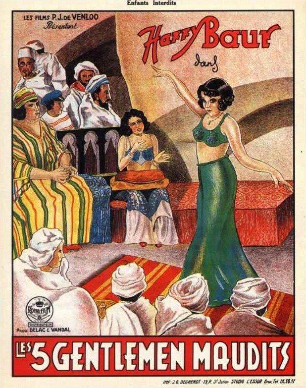 1931 Les 5 gentlemen maudits