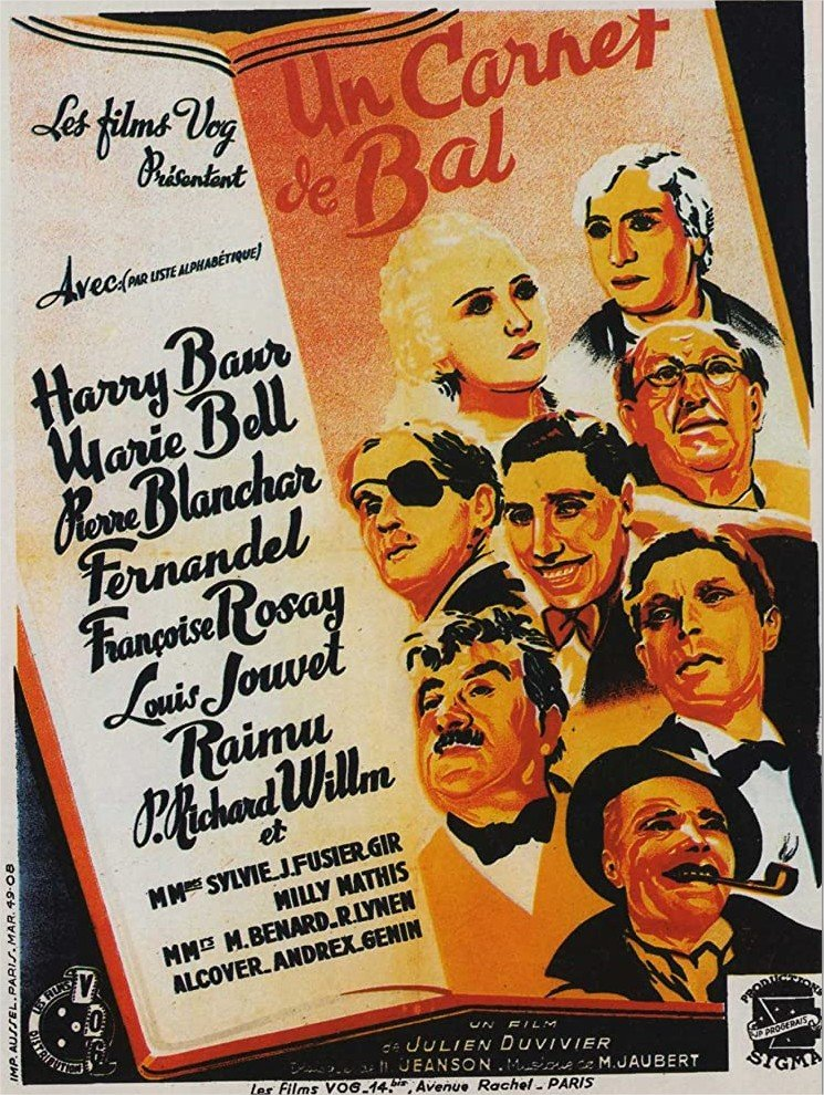 1937 Un carnet de bal