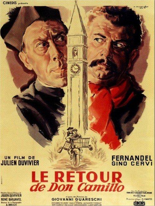 1953 Le Retour de Don Camillo