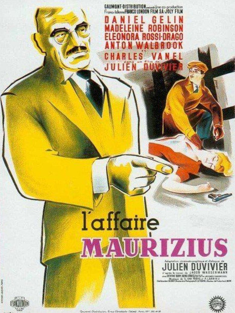 1954 L'Affaire Maurizius