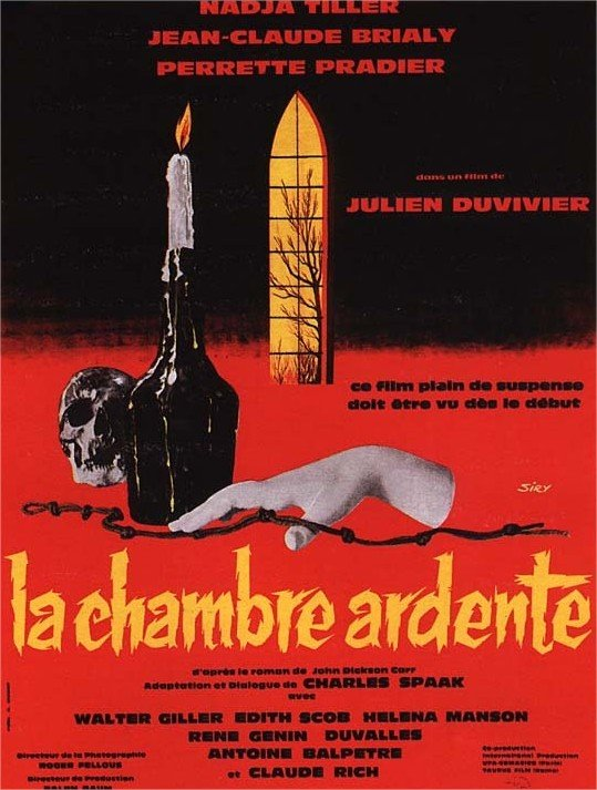 1962 La Chambre ardente