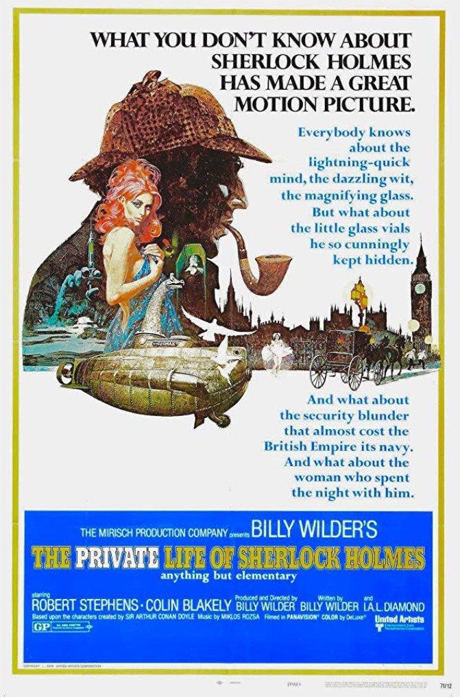 1970 La Vie privée de Sherlock Holmes