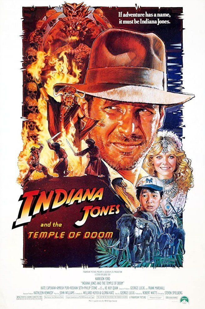 1984 Indiana Jones et le temple maudit