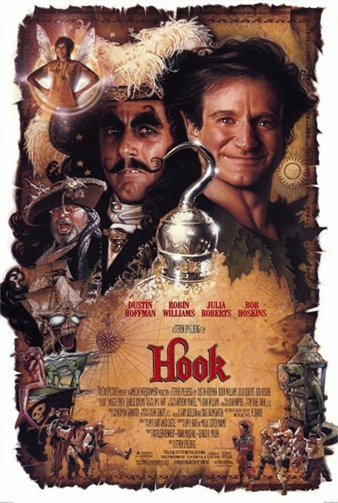 1991 Hook ou la revanche du Capitaine Crochet