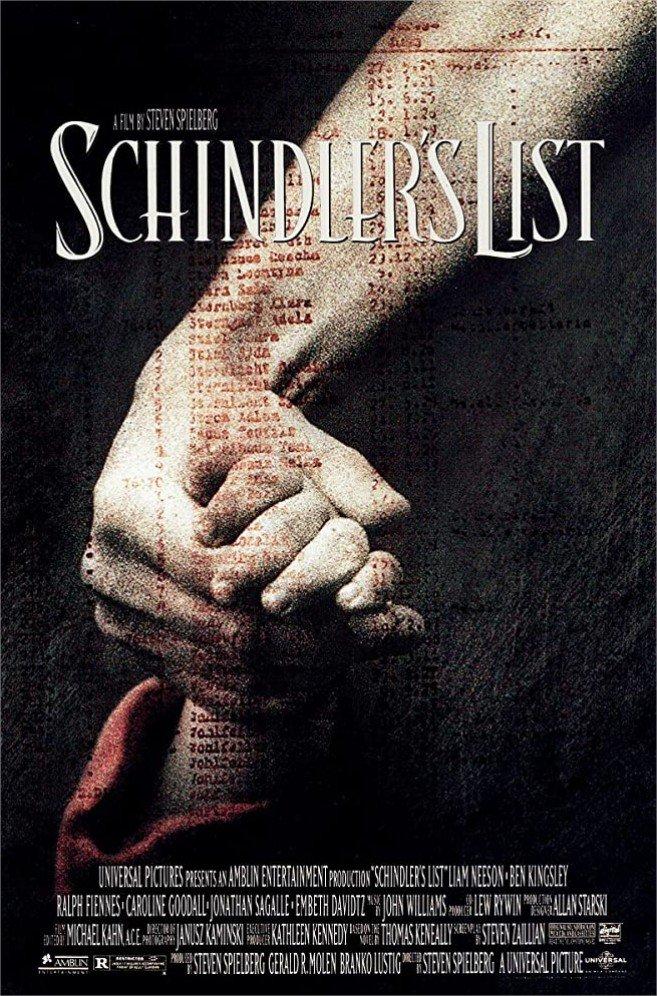 1993 La liste de Schindler