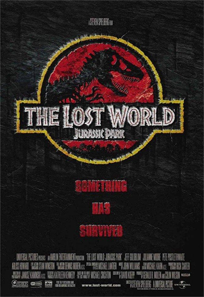1997 Le monde perdu Jurassic Park
