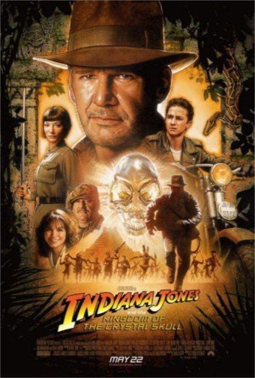 2008 Indiana Jones et le royaume du crâne de cristal