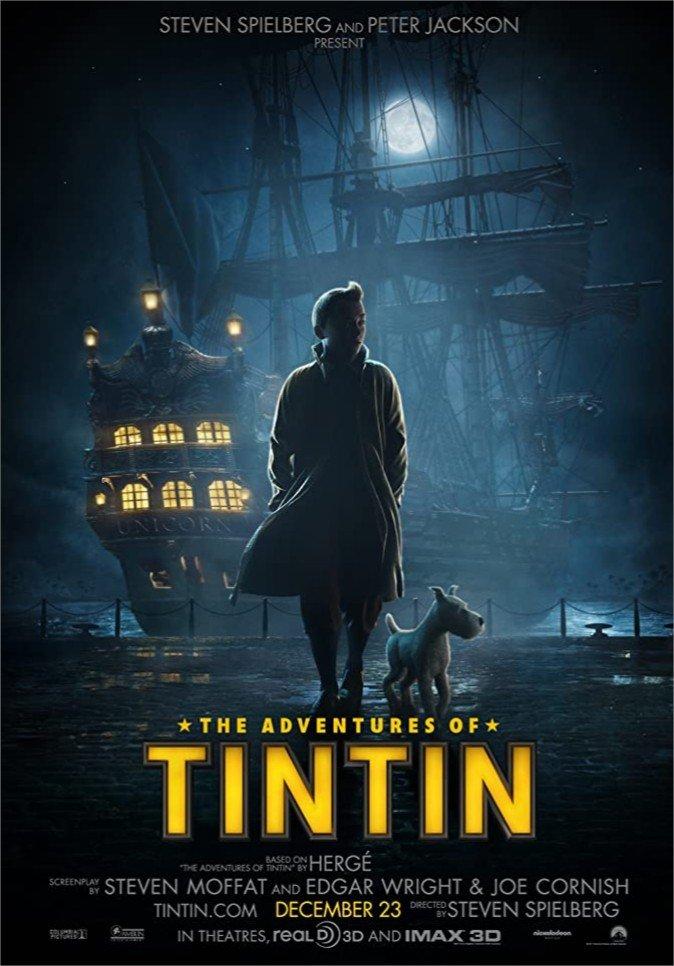 2011 Les aventures de Tintin Le secret de la Licorne