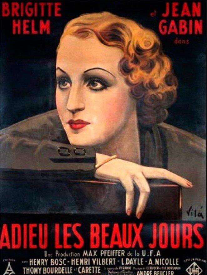 1933 Adieu les beaux jours