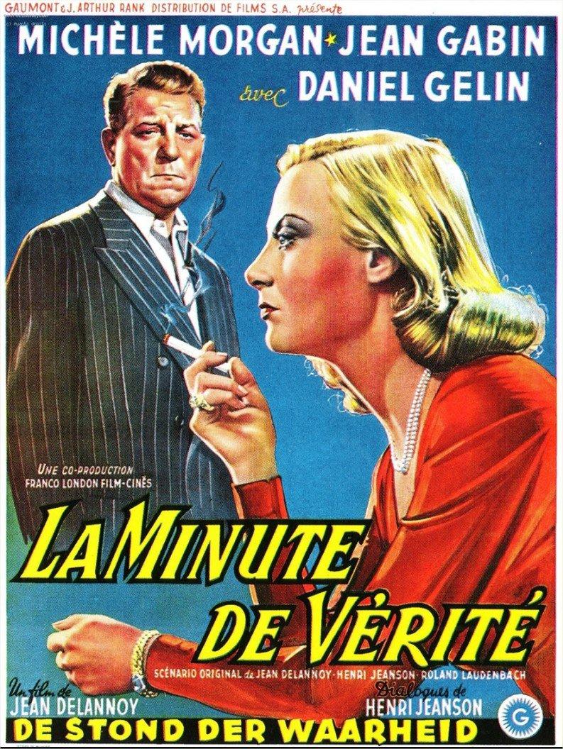 1952 La Minute de vérité