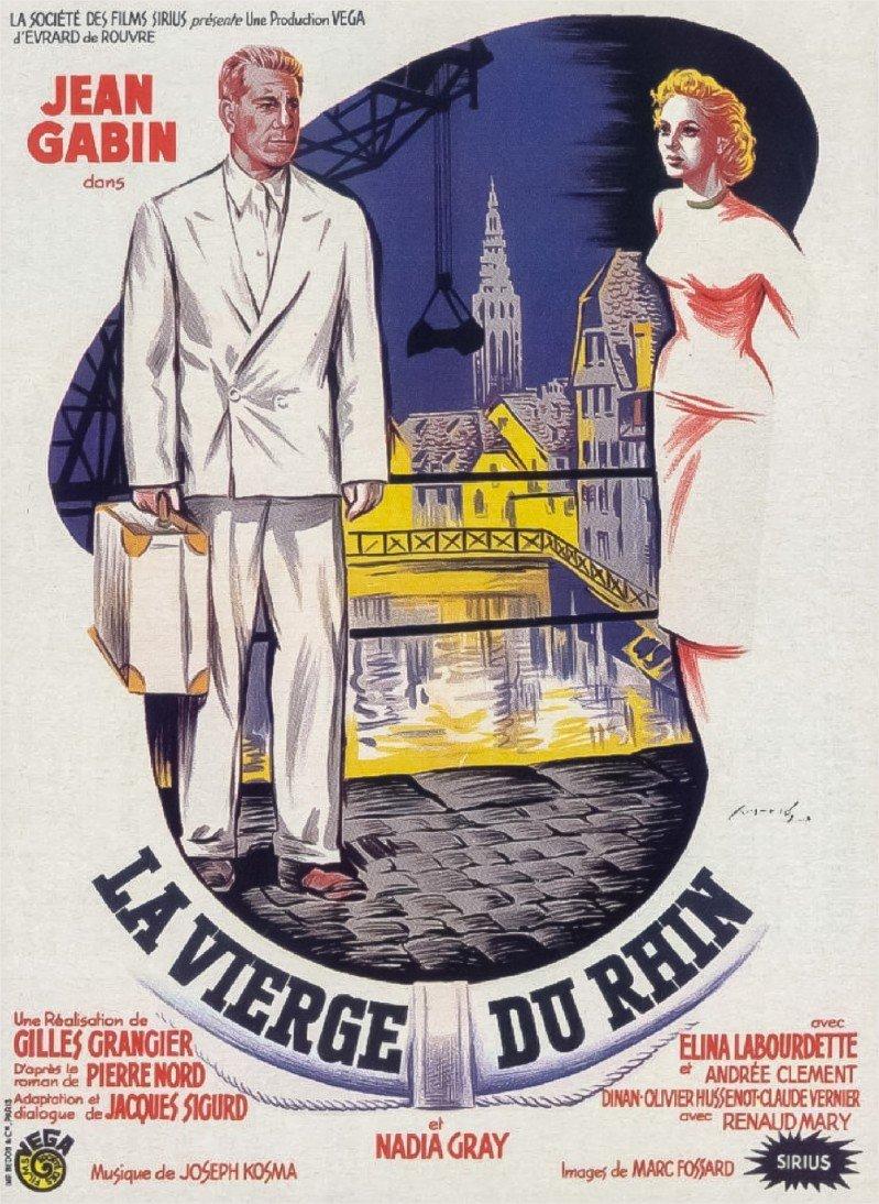 1953 La Vierge du Rhin