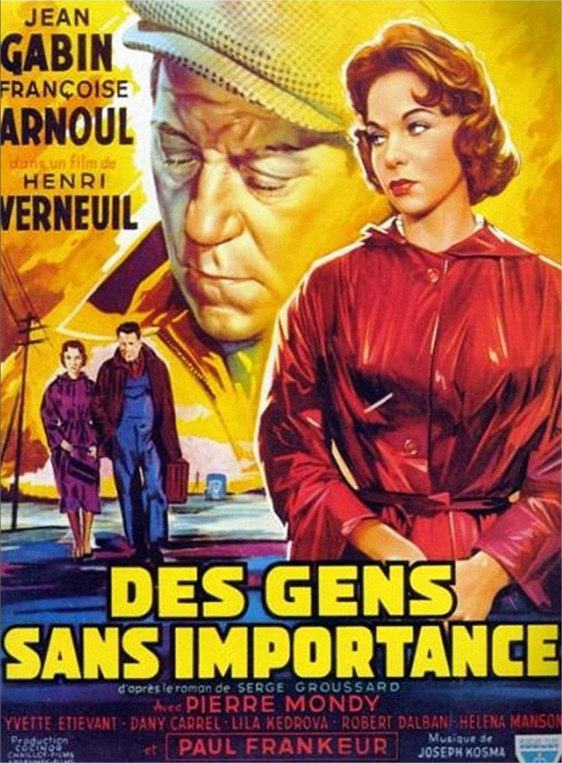 1956 Des gens sans importance