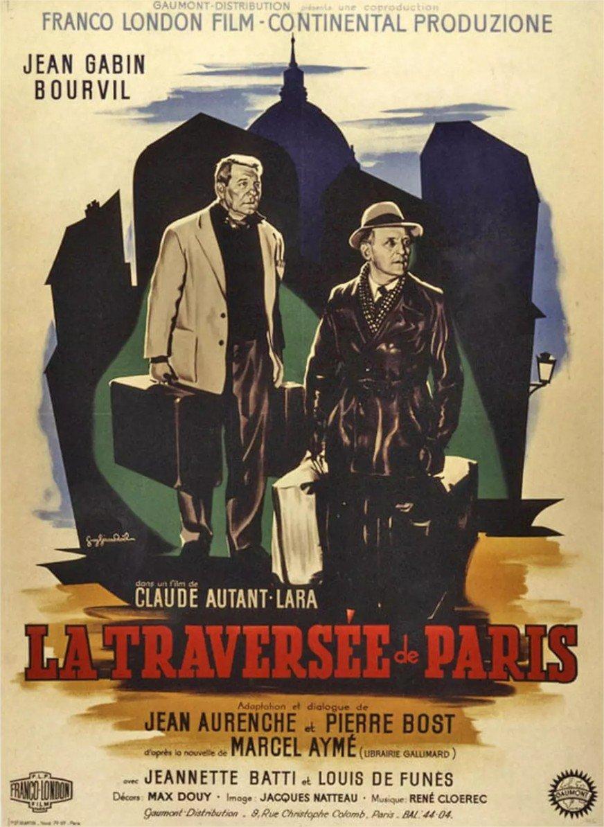 1956 La Traversée de Paris