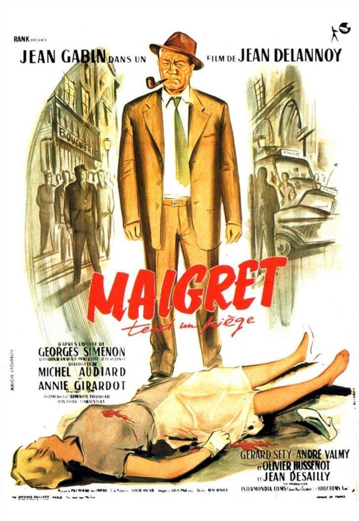1958 Maigret tend un piège