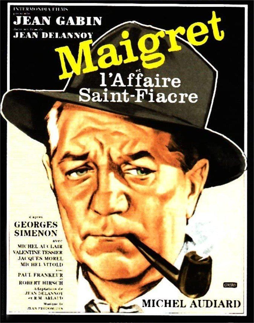 1959 Maigret et l'affaire Saint-Fiacre