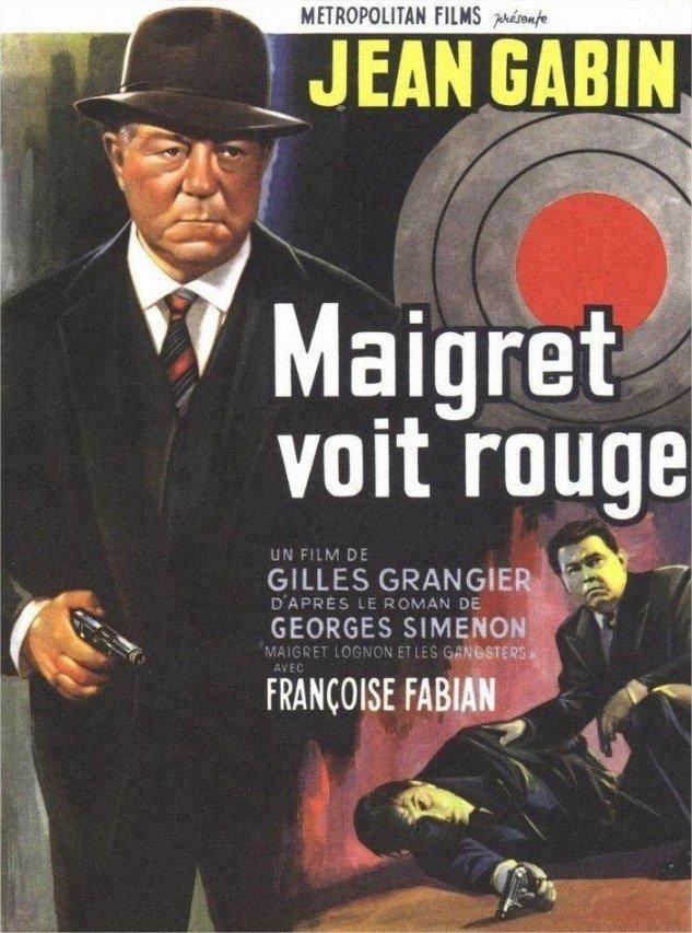 1963 Maigret voit rouge